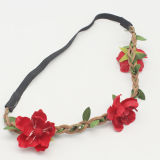 La moda femenina estilo Boho Hairband Flor Floral (Cabeza-284)