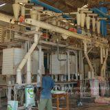 automatische Mais-Getreidemühle der hohen Leistungsfähigkeits-180tpd elektrische in Kenia