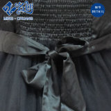 Alta qualità nera del vestito da slittamento delle signore del merletto