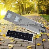 2017 Nouveaux produits tous dans une rue lumière LED solaire à haute efficacité énergétique