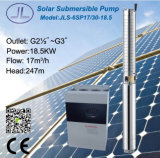 6sp17/30深い井戸の太陽水ポンプ416L
