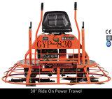 Fahrt auf EnergieTrowel für das Schwimmen und die Fertigung der konkreten Oberfläche mit Motor Gyp-830 Honda-Gx390