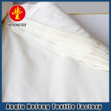 Производитель высококачественных белый обычная ткань из чистого хлопка для кровати в мастерской