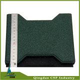 25mm Gummi-Fußboden-Matten-Fliese für Pferd