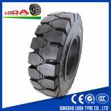 단단한 포크리프트 타이어 4.00-8 Fornt 타이어 고체 타이어
