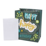 Bolsa de papel del regalo de Brithday, bolsa de papel del regalo, bolsa de papel revestido brillante, bolso de compras