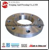 A flange do aço de carbono/forjou Flange/ASME B16.5/ASME B16.47/DIN2576/DIN2633/JIS/En1092