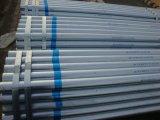 Il tubo d'acciaio galvanizzato Ss400 ha galvanizzato il tubo galvanizzato intorno al tubo d'acciaio