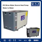 -15ºC Entrada glicol COP1.67 /15kw calefacción habitación / 220vauto Desempañador de bomba de calor geotérmica de venta