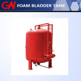 消火活動のための水平の泡のぼうこうタンク