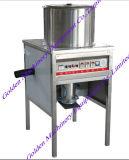 Máquina de processamento industrial de Peeler da casca da cebola do alho do compressor de ar