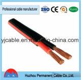 Venta de la fábrica directamente PVC plana eléctrica de cobre de los conductores PVC Cable de alimentación / cable de Shenzhen plana /