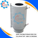 Machine magnétique de filtre de séparateur de tube d'aimant intense d'acier inoxydable