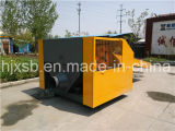 Machine de découpage de chiffon de tissu de perte de fibre de cuir de prix usine