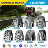 pneus radiaux du camion 1200r24, doubles pneus de camion de route
