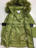 Stock одежды, более дешевые куртки цены вниз, повелительница Длинн Тип Вниз Куртка