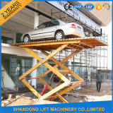Levage hydraulique automatisé de stationnement de gerbeur de véhicule de ciseaux
