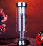 대중적인 휴대용 유리제 차잔 선물 유리제 컵 재상할 수 있는 컵