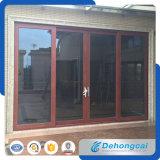 Puerta corredera de aluminio de diseño nuevo para entrada a casa / villa