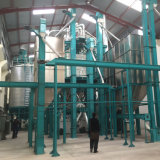 100t/24h planta de beneficiamento de milho para a África Quénia Uganda Zâmbia