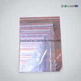 Kundenspezifische gedruckte mit Reißverschluss Wegwerfplastiktasche