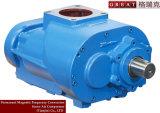 Deux pièces rotatoires de compresseur d'air de vis de rotors