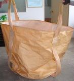 スカート86*86*105cm PPのジャンボ袋が付いているすべてのバンドを付けられたトン袋
