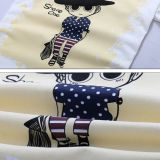 Custom хлопка обычная рекламные футболки
