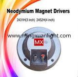 Komprimierung-Fahrer-Titanmembranlautsprecher des Neodym-2431h
