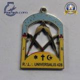 Medalla suave modificada para requisitos particulares del esmalte con final del oro