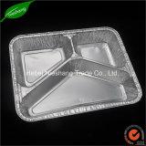 Plateau remplaçable de papier d'aluminium de conteneurs de papier d'aluminium