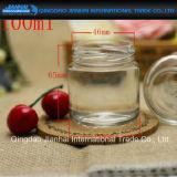 Sieben Größen-runde Glasstau-Flasche für Stau und Honig