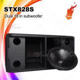 Stx828sは防水低音の大箱18 Subwooferの二倍になる