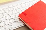 Il coperchio duro di Moleskine di alta qualità ha regolato il taccuino, il taccuino Softcover dell'unità di elaborazione per l'ufficio & il banco