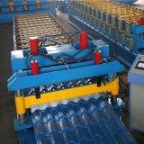 La hoja de aluminio galvanizada de la azotea esmaltó el rodillo del azulejo que formaba la máquina