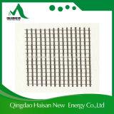 De nieuwe die Stof van het Netwerk van de Glasvezel 160G/M2 van 7X7mm in de Hoek van de Muur wordt gebruikt