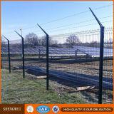 La polvere di vendita o il PVC calda ha ricoperto la rete fissa saldata galvanizzata della rete metallica