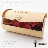 Hongdao Bark Rond Boîte cadeau en bois de couleur naturelle pour cadeau Prix faible _E