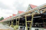 Estrutura de aço de depósito de oficina Prefab edifício com certificação CE