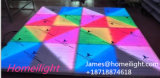 2FT * 4FT RGB 3 en 1 LED à télécommande LED Lampadaire Disque LED Starlit Dance Floor Light Party Décoration extérieure