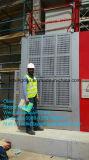 Elevación de la construcción de estante y del piñón del Sc