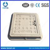 SGS En124 прошел квадрат отливки/круглые крышки люка -лаза составные