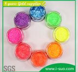 Comercio al por mayor de polvo de purpurina impermeable para el Cuero