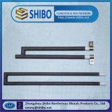Elemento de calentador de varilla Sic, calentador especial de barra de sílice de forma