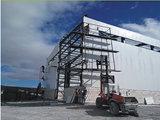 Construction pré conçue élevée de structure métallique de Qualtiy