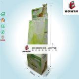 Étalage de carton avec les crochets de cheville/étalage de crochet au détail de carton