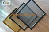 着色されたガラスによって絶縁されるガラス安全ガラス