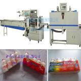 Machine à emballer automatique de rétrécissement de bouteille de Yakult de moteur servo d'Omron