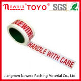 Borrar la insignia impresa cinta basada del embalaje del conducto