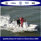 Barco inflable rígido de Rib580A